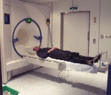 Me in the brain scanner